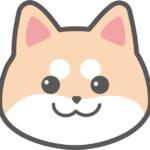 柴犬のイラスト(顔のみ)