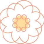 【2021年丑年】菊のイラスト