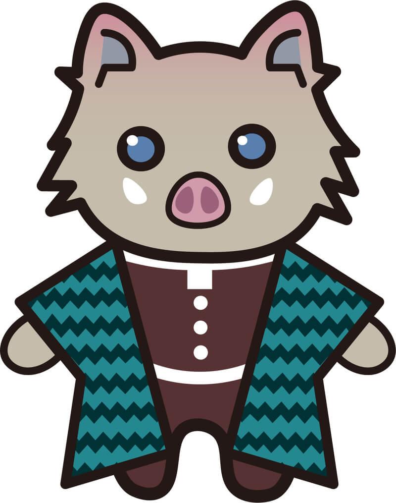 【鬼滅の刃風】伊之助*猪