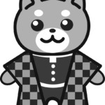 【鬼滅の刃風】丹治郎*柴犬(白黒)