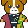 【鬼滅の刃風】冨岡義勇っぽい*ジャックラッセルテリアのイラスト【無料】
