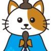 ひなまつり猫(お内裏様)イラスト