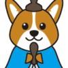 ひなまつり犬(お内裏様)イラスト
