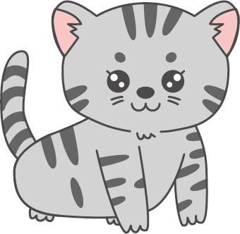 子猫(グレー)