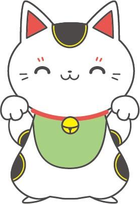 招き猫(白色)