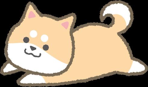 ゆるい柴犬(茶色)