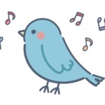 歌う「青い鳥」